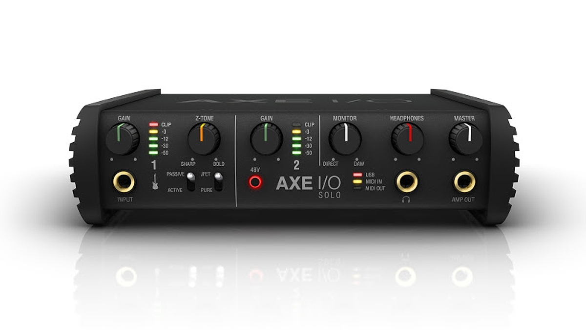 IK Multimedia unveils new AXE I/O SOLO guitar interface and T-RackS Space Delay plug-in