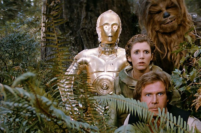 star wars return of the jedi The 100 Greatest Summer Blockbuster Movies of All Time