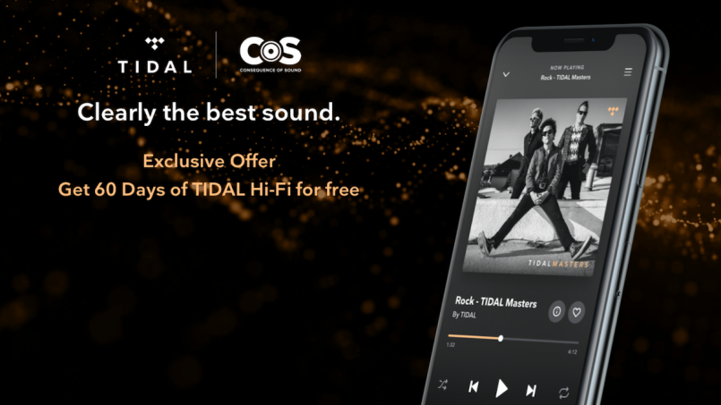 tidal hifi consequence of sound offer free 60 days