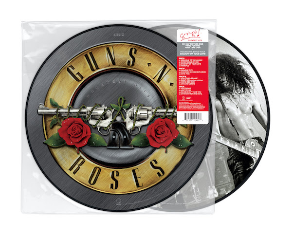 Guns 'N Roses Greatest Hits LP