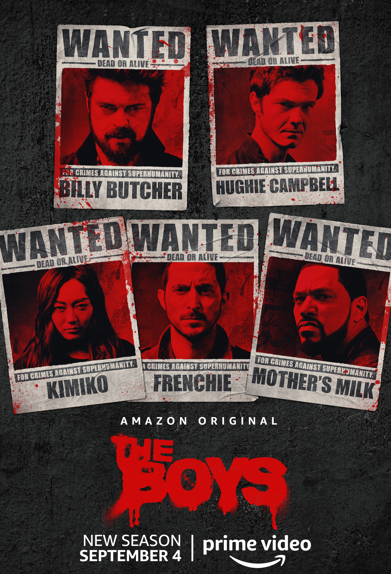 The Boys 'wanted' flier