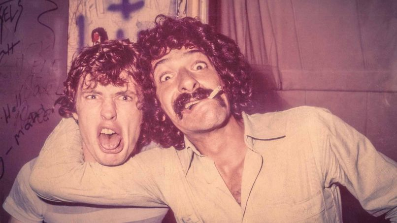 1978 Angus Young Ken Schaffer Palladium NYC Backstage Meet the AC/DC Superfan Who Unlocked Angus Young's Back in Black Guitar Tone