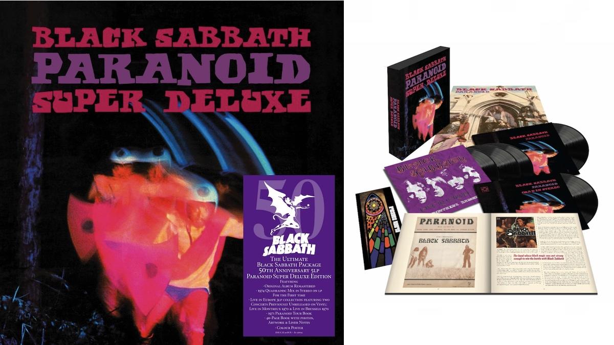 "Black Sabbath's Paranoid gets ""Super Deluxe"" vinyl box set treatment for 50th anniversary"