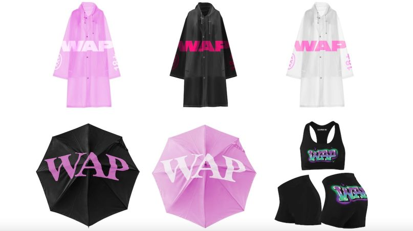 Cardi B WAP merch Megan Thee Stallion wapstore