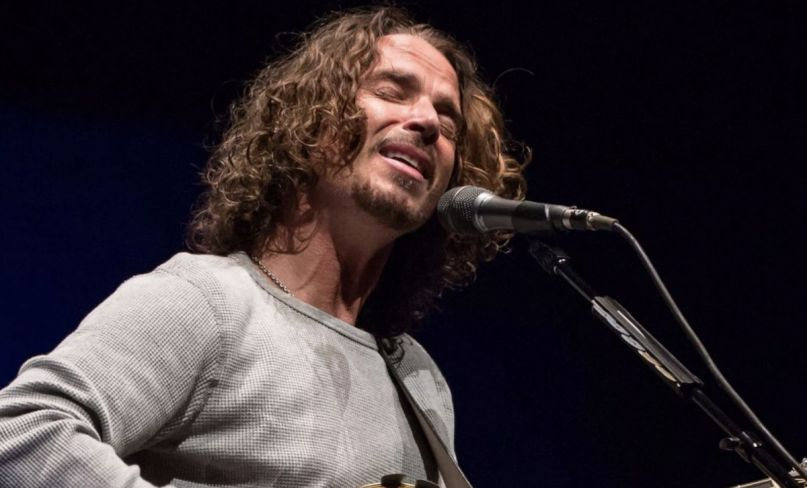 Chris Cornell biopic Black Days unauthorized movie, photo by Eric Tra