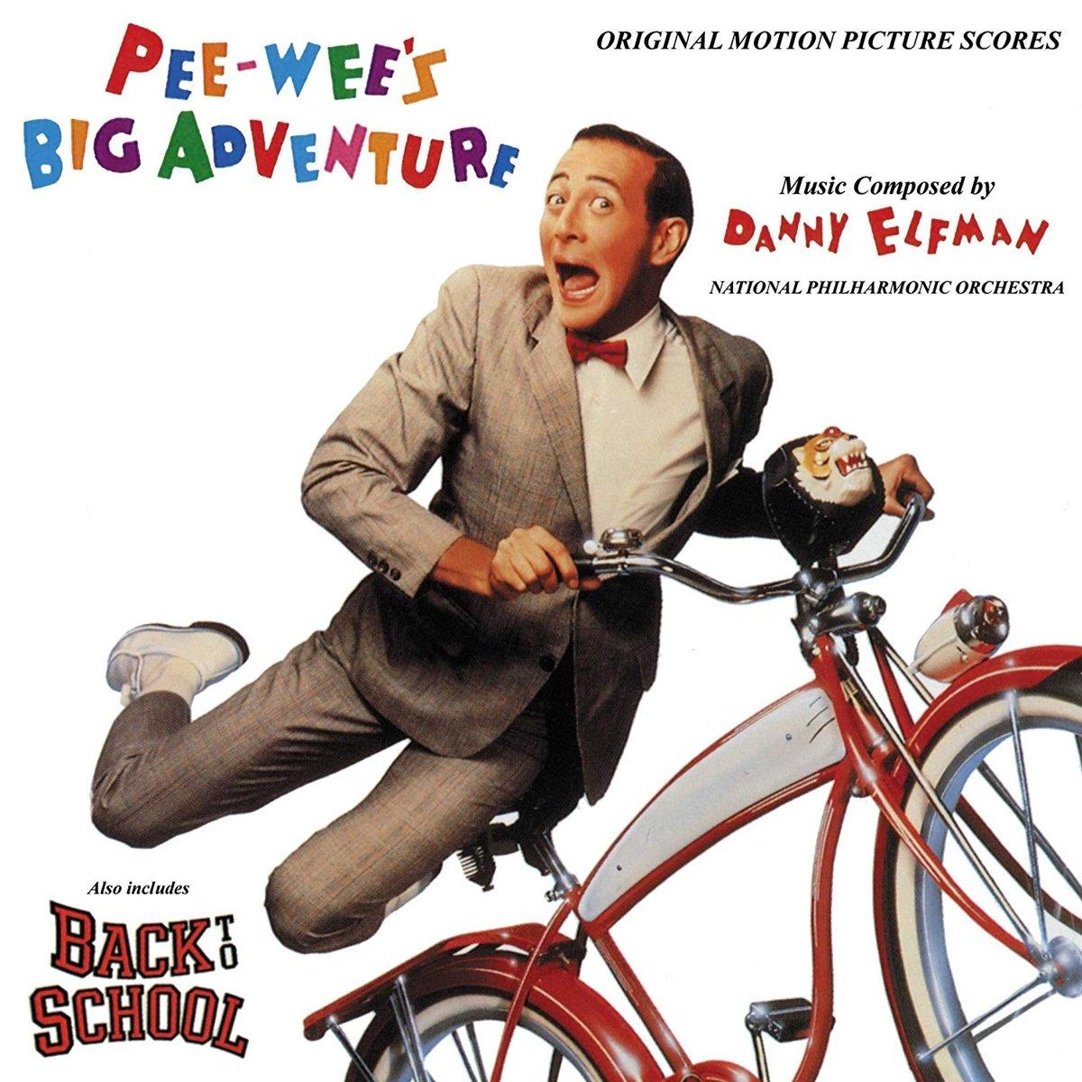 Danny Elfman Breakfast with Danny Elfman Sends Pee wees Big Adventure Racing