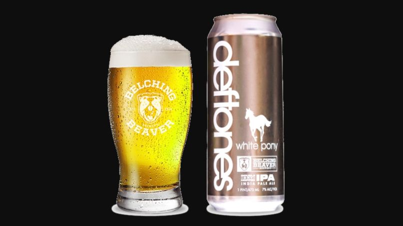 Deftones White Pony Beer 20th