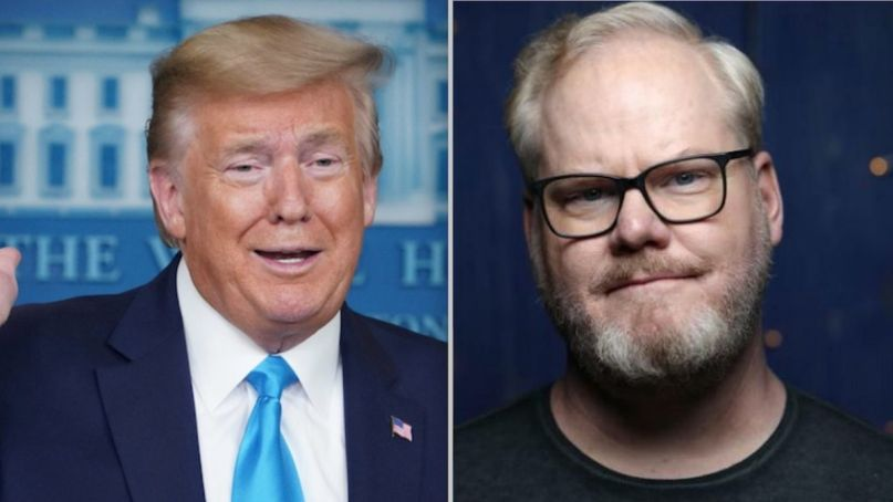 Jim Gaffigan Donald Trump Twitter rant tweets viral