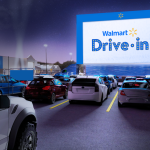 Drive-in movie theaters coming to Walmart