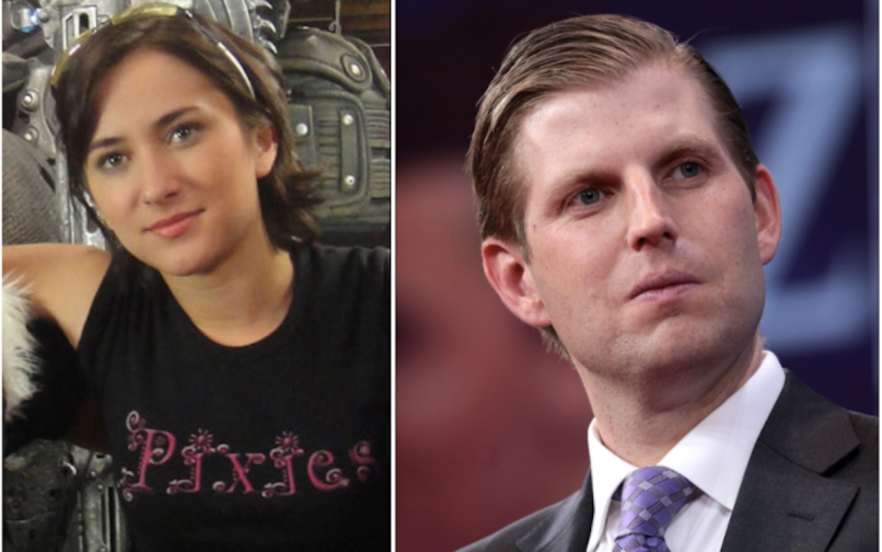 Eric Trump Robin Williams Video Zelda Williams Savage