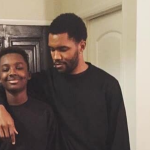 Frank Ocean with younger brother Ryan Breaux