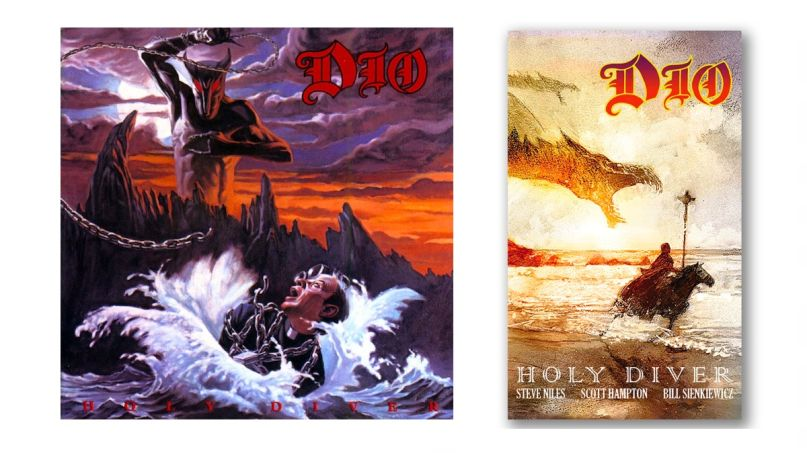 Holy Diver Album and Graphic Novel