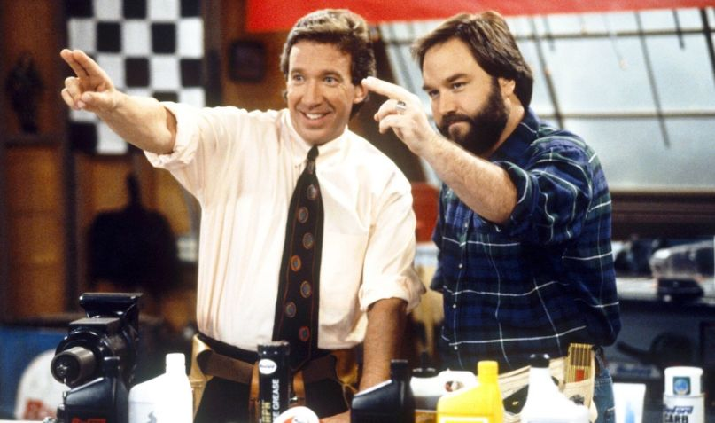 Tim Allen Richard Karn Home Improvement reality TV show