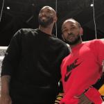 Kobe Bryant and Kendrick Lamar