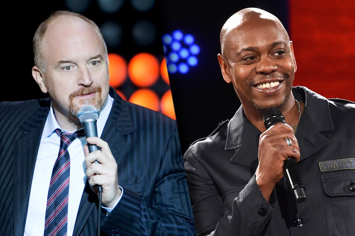 Louis C.K. joins Dave Chappelle for socially-distant standup show