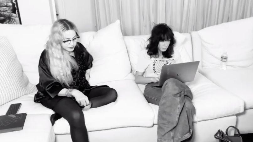 Madonna and Diablo Cody