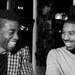 Michael B Jordan and Chadwick Boseman
