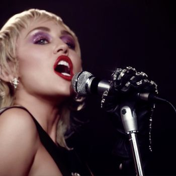 Miley Cyrus Midnight Sky music video stream new song music (YouTube)