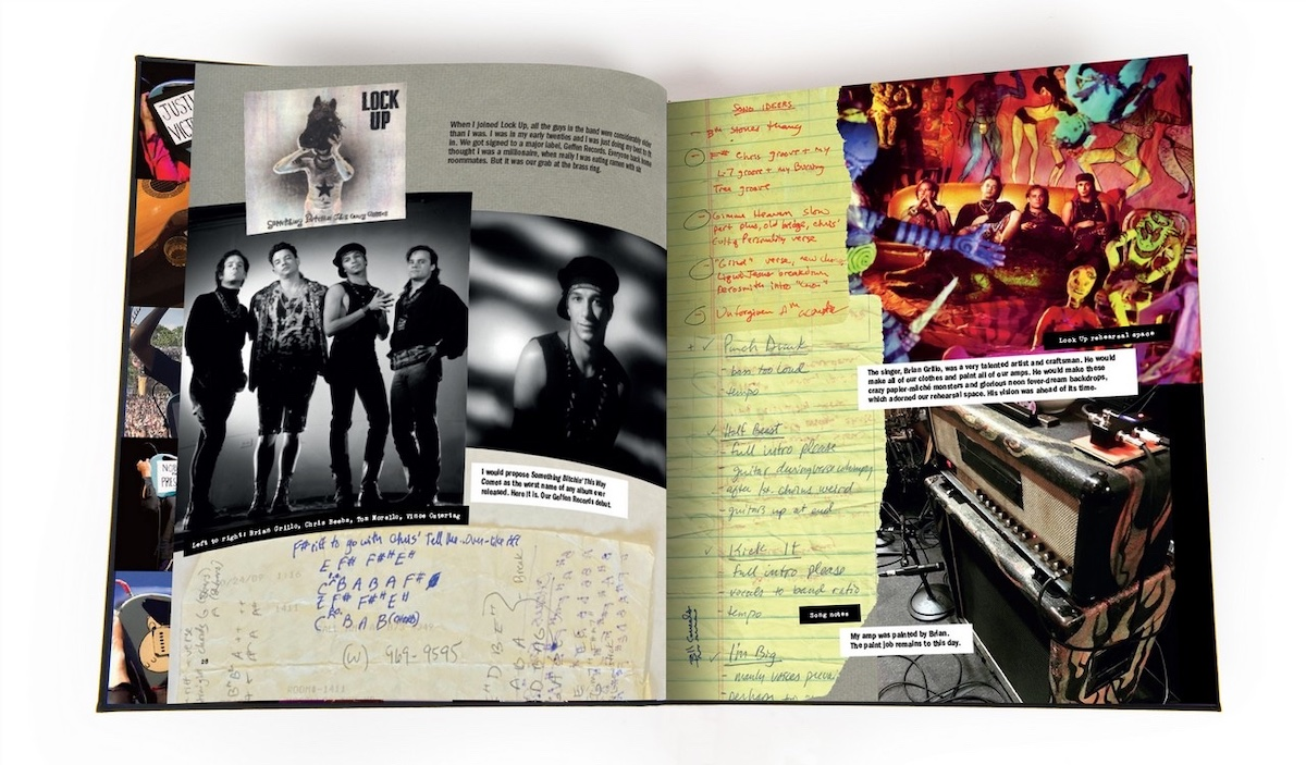 Tom Morello book page