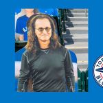 Rush Geddy Lee Cutout Blue Jays game