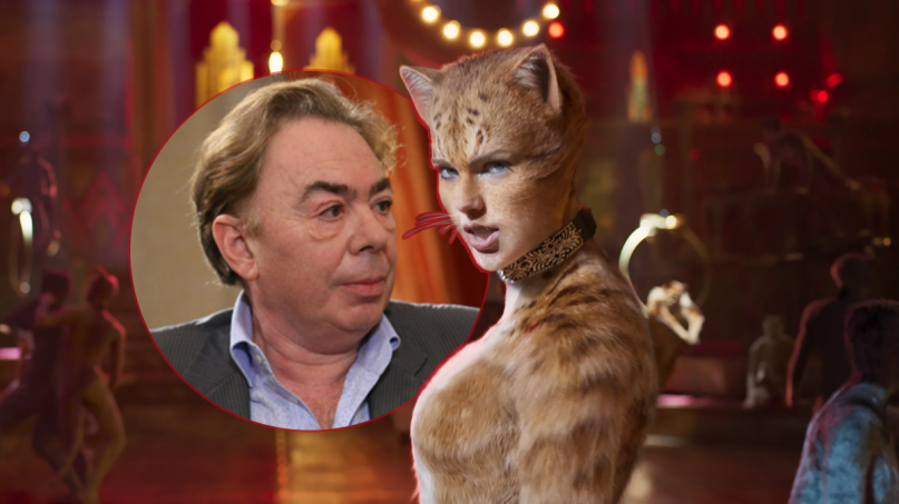 andrew lloyd weber cats movie ridiculous