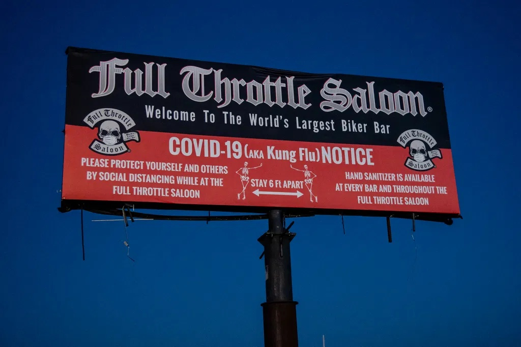 Sturgis - Full Throttle sign