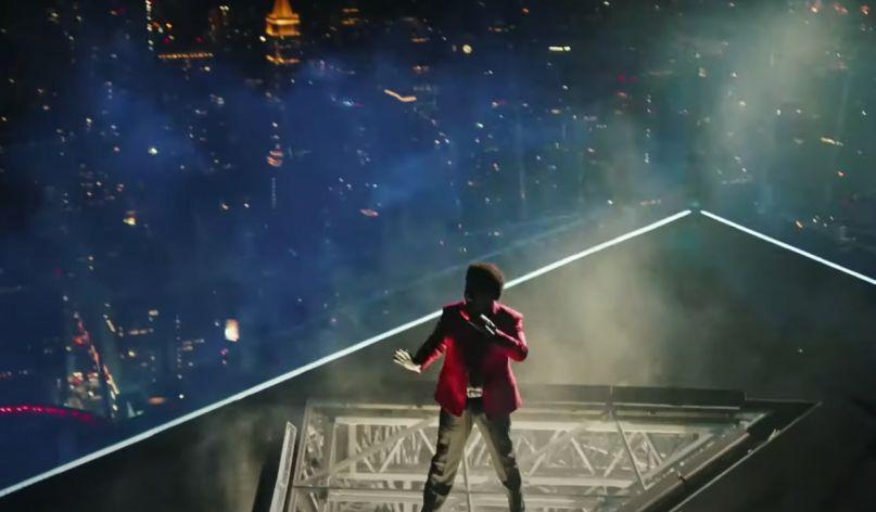 The Weeknd perform at VMAs