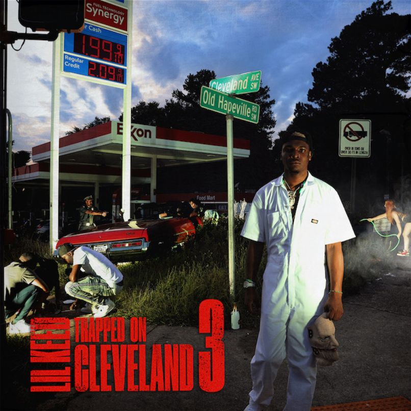 Trapped on Cleveland 3 by Lil Keed album artwork cover art