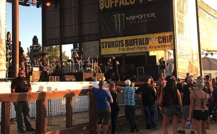 Trapt's Buffalo Chip concert drew the largest crowd ever to witness a concert, period.