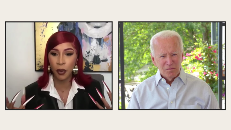 cardi-b-interviews-joe-biden-video-watch
