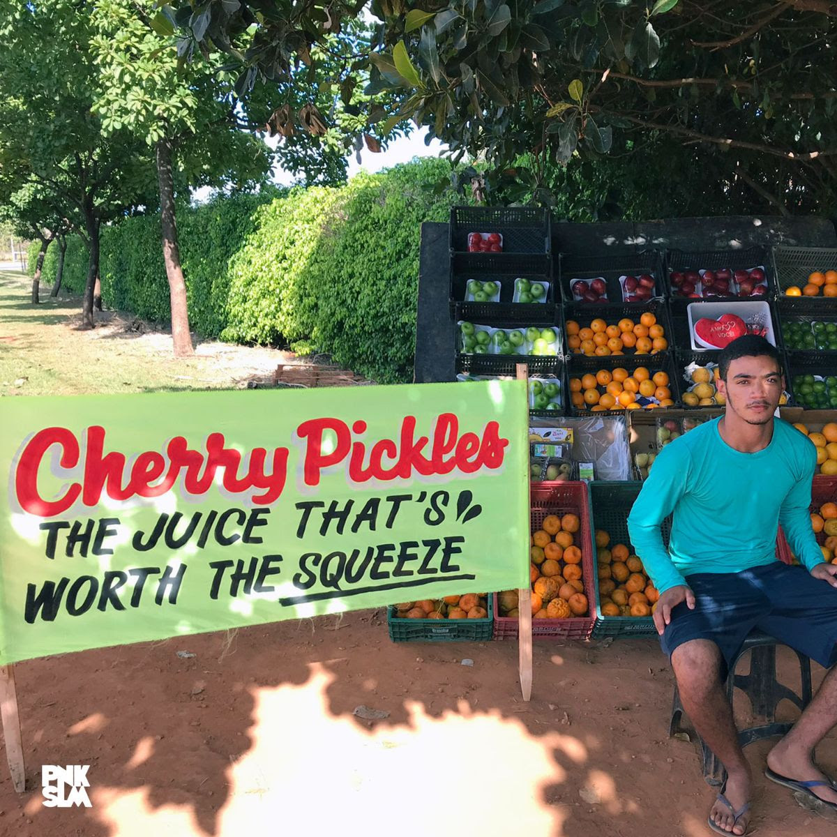cherry pickles the juice cover art Cherry Pickles Announce New Album The Juice Thats Worth The Squeeze, Share Out of This World: Stream