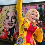 dolly parton black lives matter mural nashville