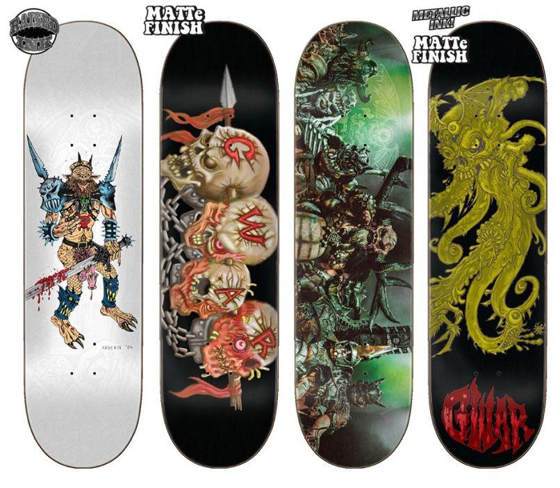 GWAR decks