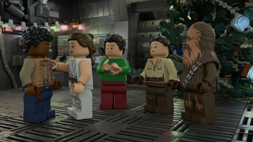 lego star wars holiday special disney plus