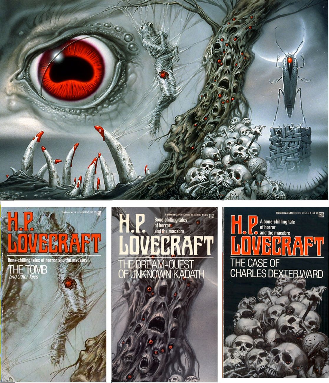 H.P. Lovecraft Books
