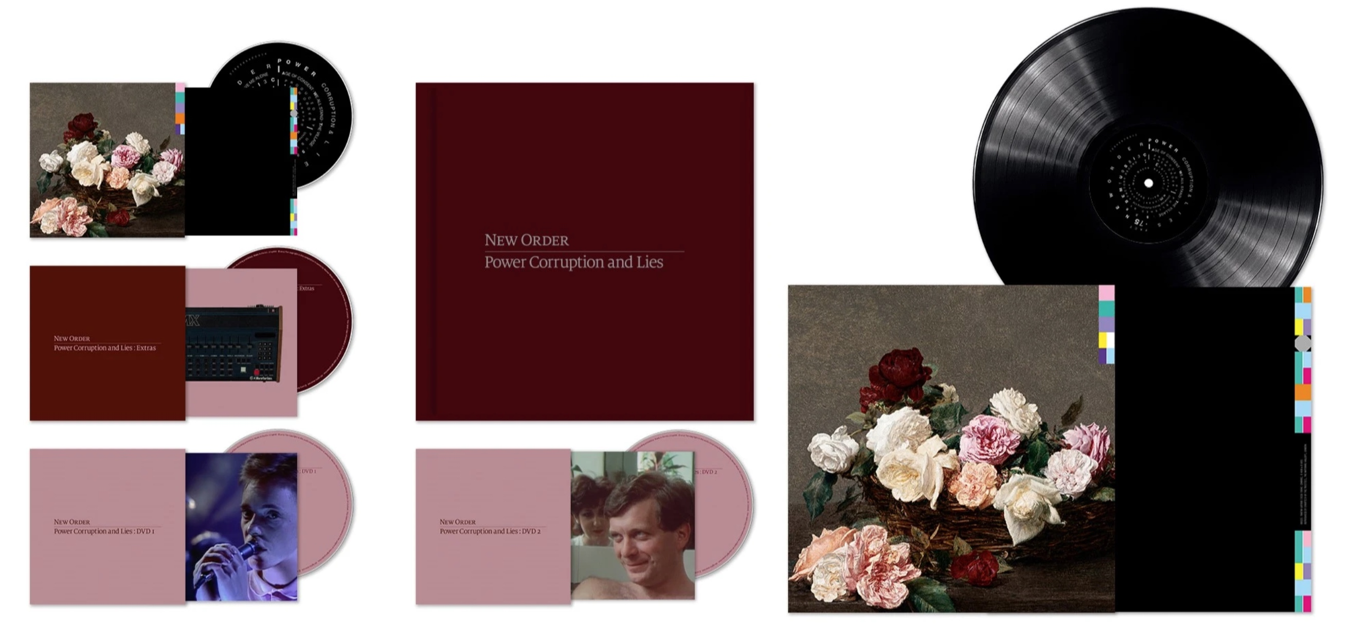 New Order Announce Power, Corruption & Lies Deluxe Box Set ...