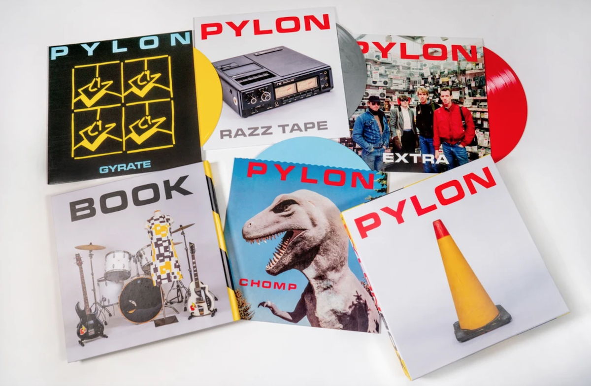 pylon box set artwork colored vinyl