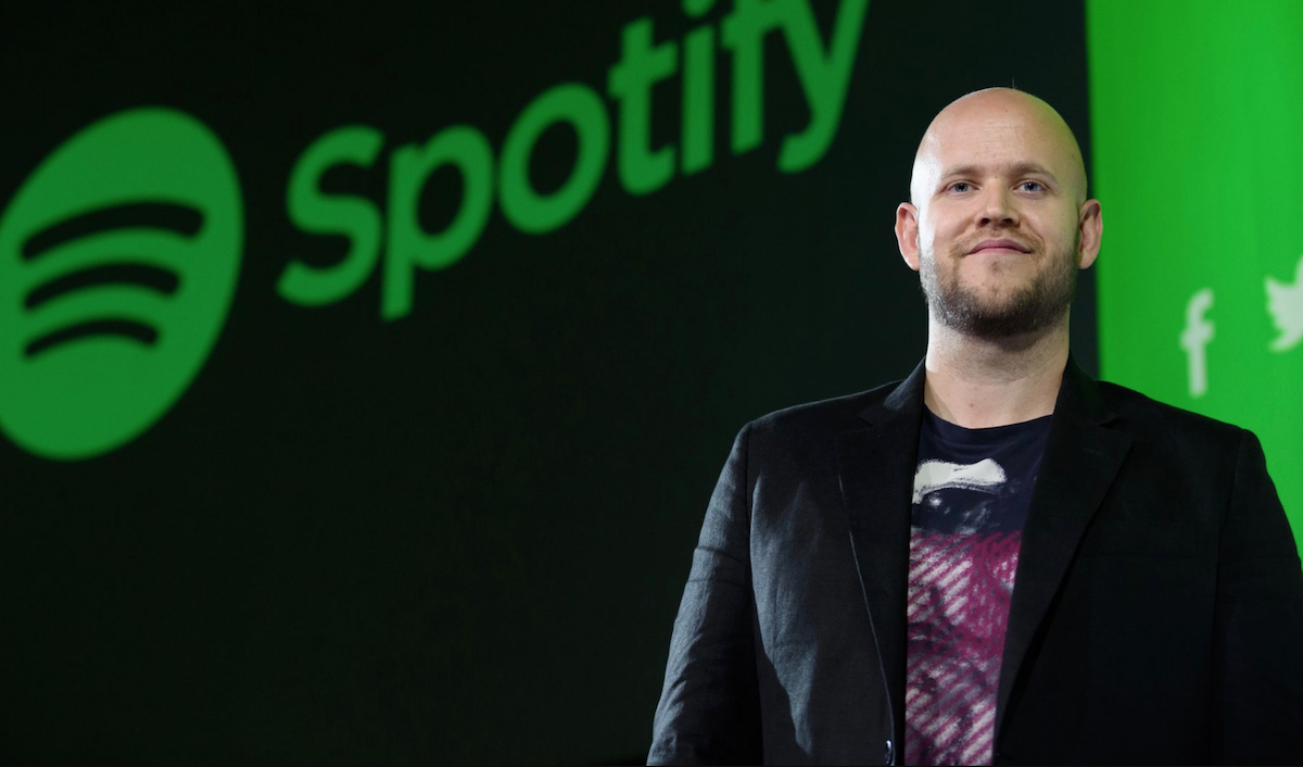 "Spotify CEO to artists: ""You can't record music once every three to four years and think that's going to be enough"""