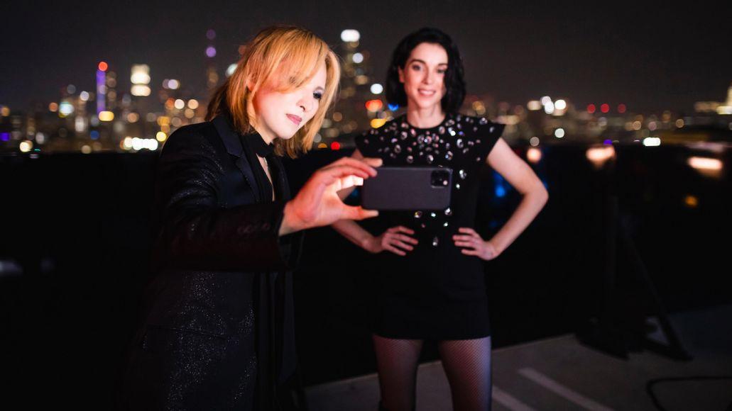 st vincent yoshiki new york collaboration