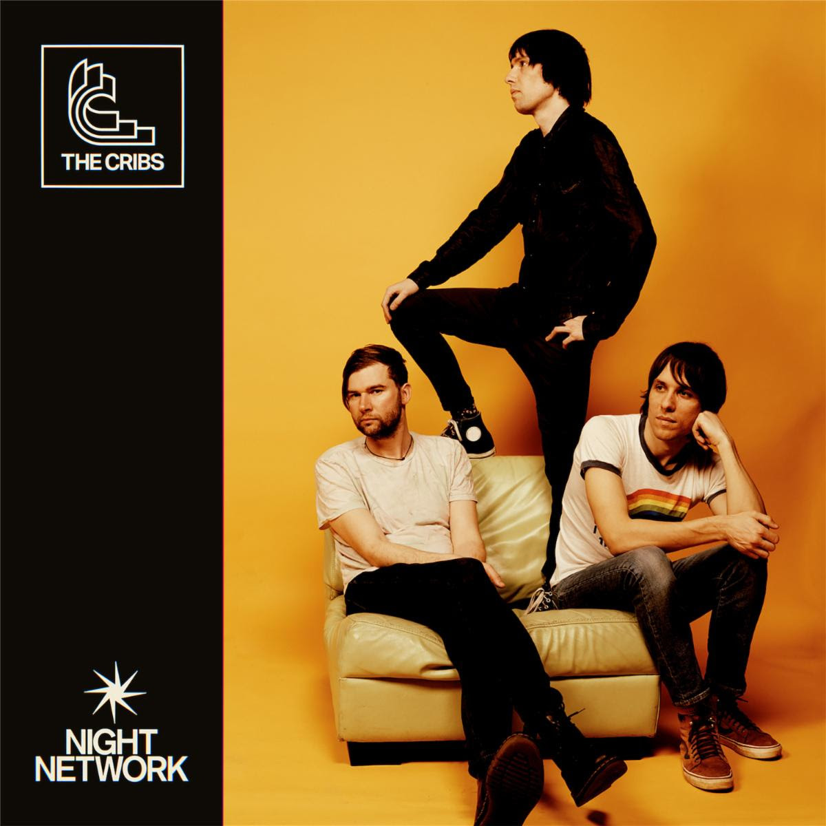 the cribs night network album cover art The Cribs Announce New Album Night Network, Share Running Into You: Stream