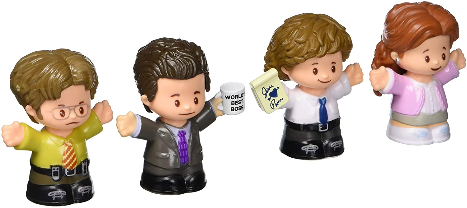 the office Fisher-price little people set