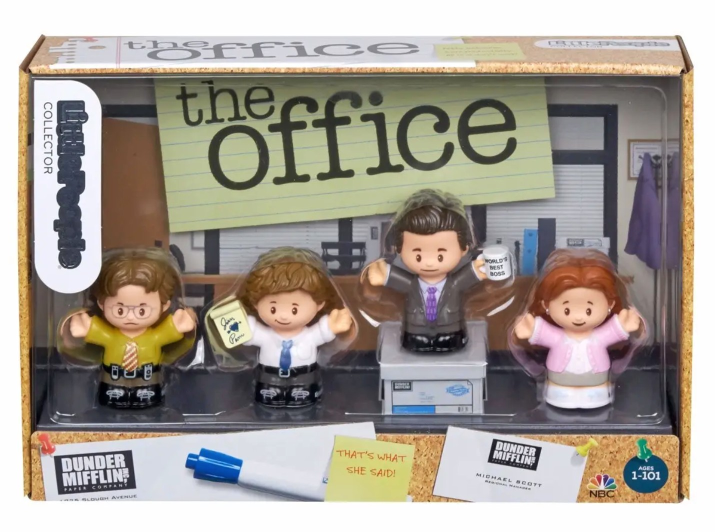 The Office Gets Super Cute Fisher Price Toy Set Consequence Of Sound