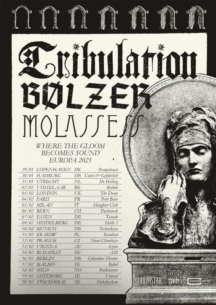Tribulation 2021 Tour