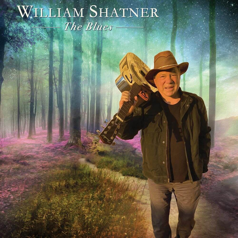 william shatner the blues art cover William Shatner Announces Guest Heavy Blues Album