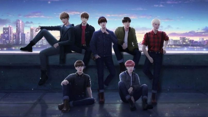 BTS Universe Story trailer video game mobile app download watch