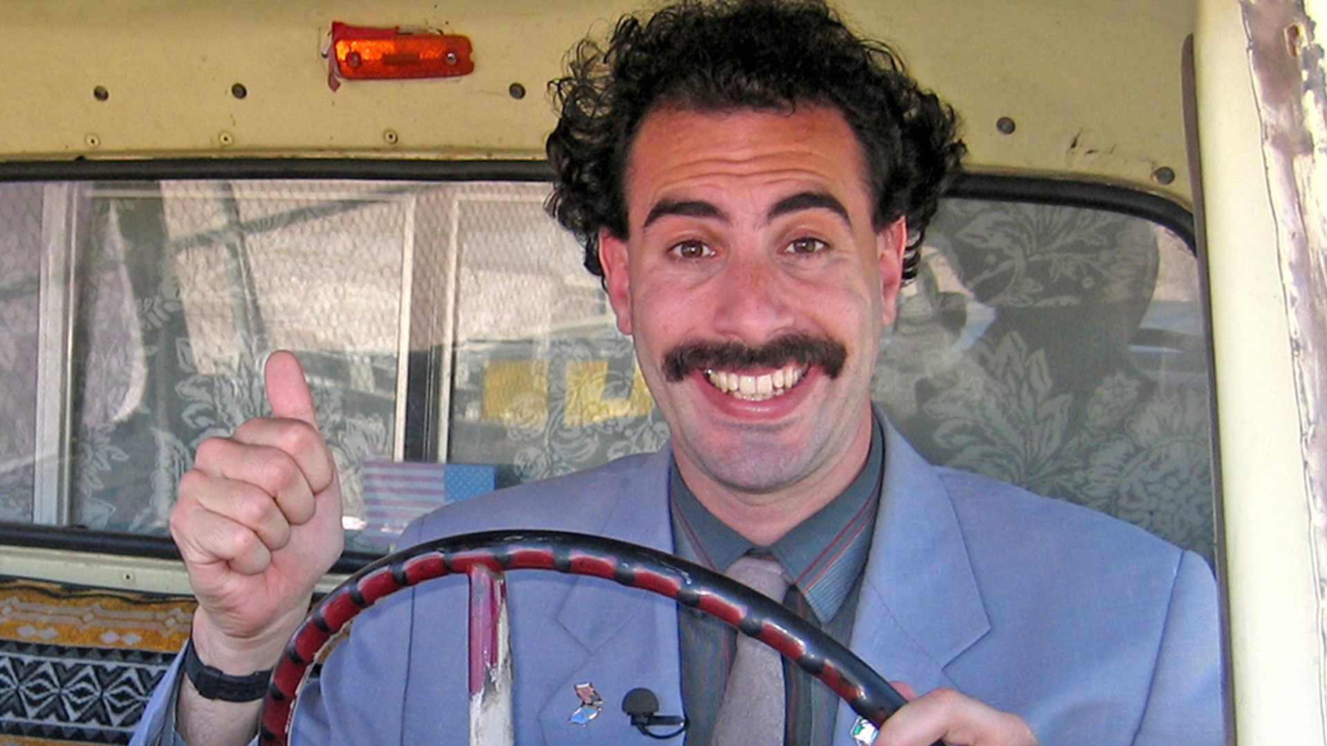The title to Sacha Baron Cohen's Borat sequel is absolutely glorious