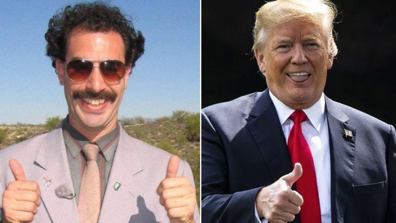Borat and Trump