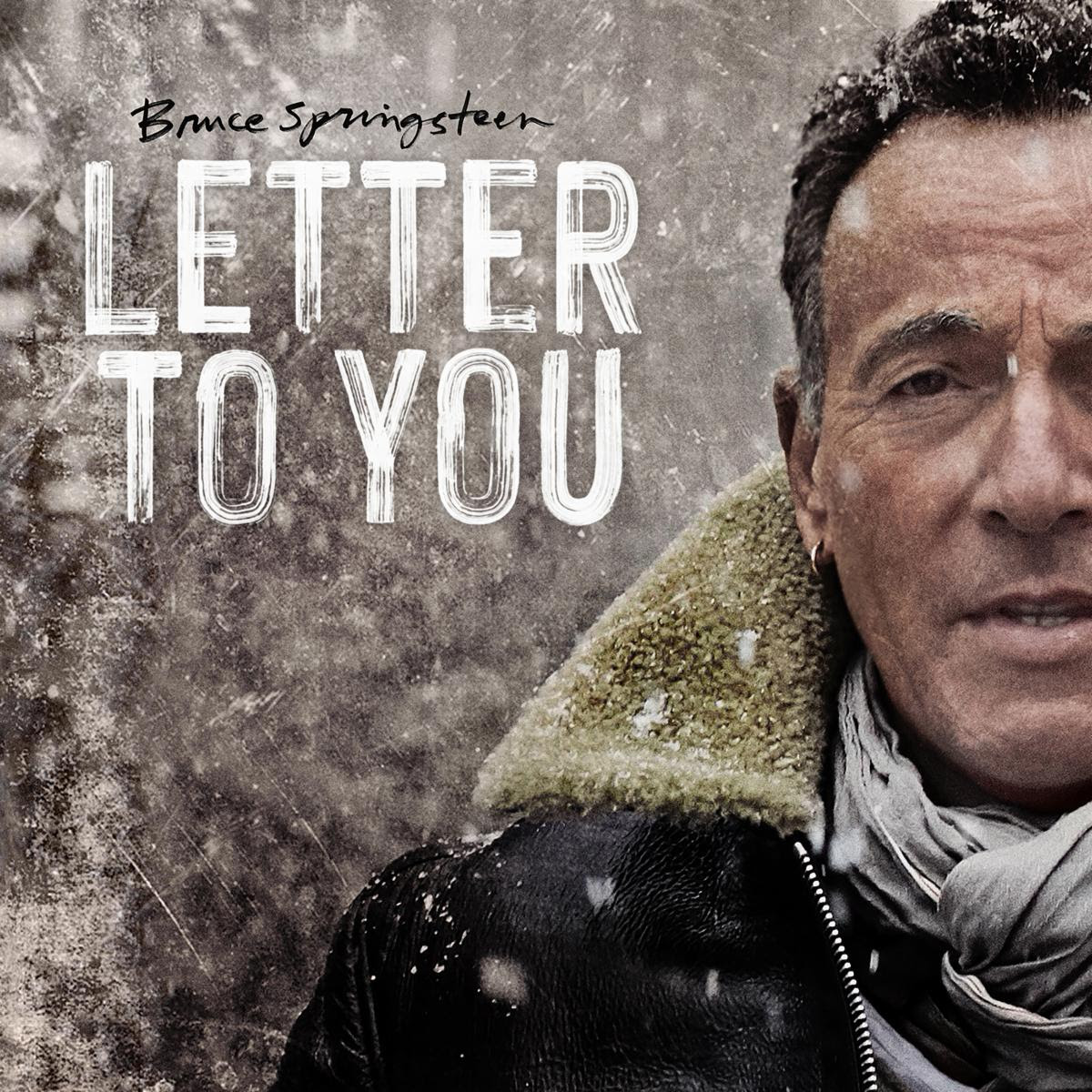 Bruce Springsteen Letter to You artwork