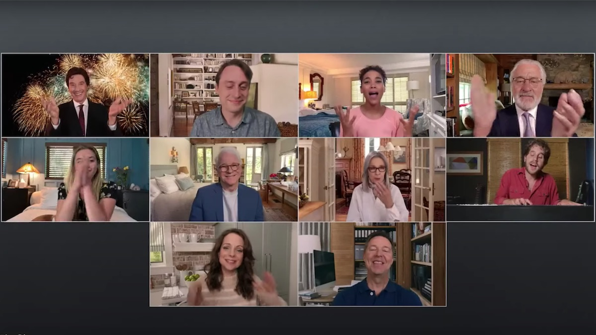 "Father of the Bride cast reunites for virtual Netflix ""sequel"": Watch"