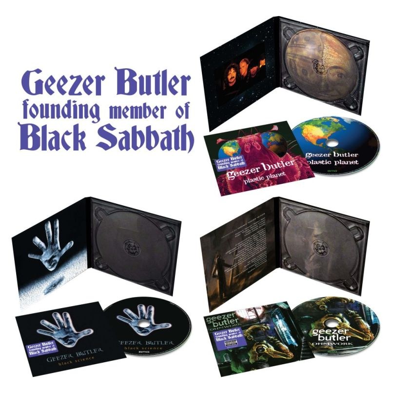 GeezerButler 3D 3xCD stickered5 1024x1024 1 Geezer Butlers Three Solo Albums to Get First Ever Vinyl Release